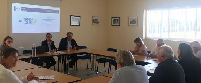 Consultation citoyenne sur l'Europe avec les élus de Gâtine et Choisilles - Pays de Racan