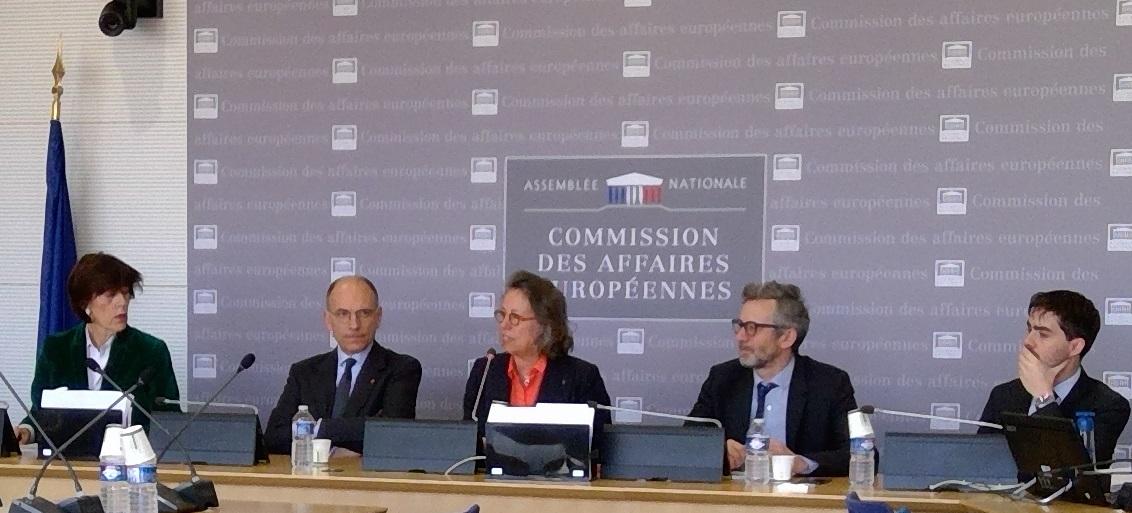 Thèmes et clivages des élections européennes : audition d'Enrico Letta, Président de l'Institut Jacques Delors