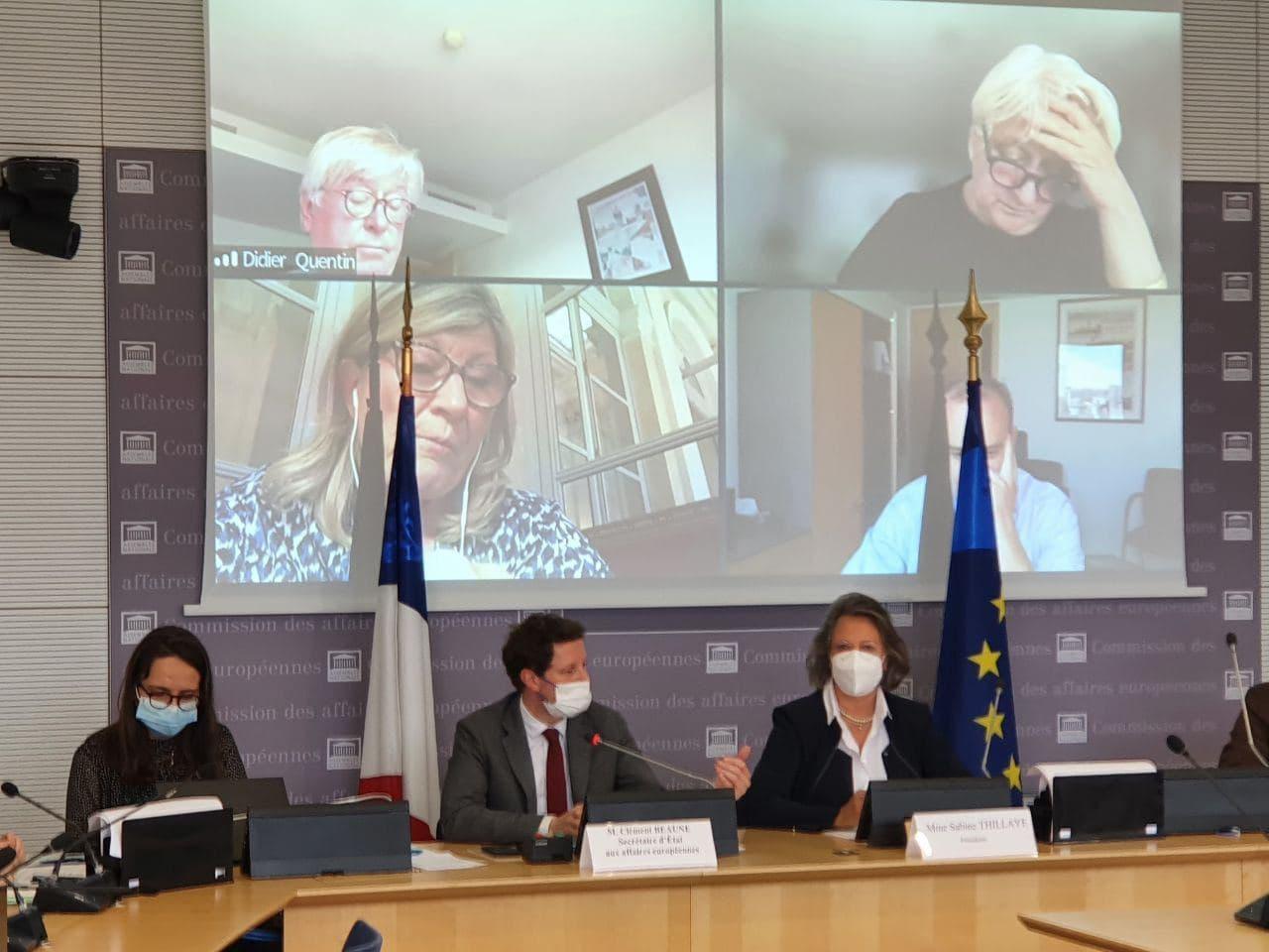 Participation de Clément Beaune au dialogue d'été de Petersberg